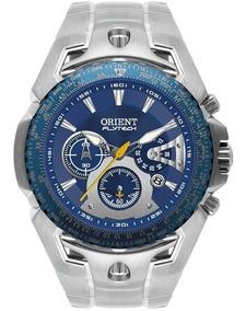 Relógio Orient Masculino Flytech Original Nota Mbttc006 D1sx