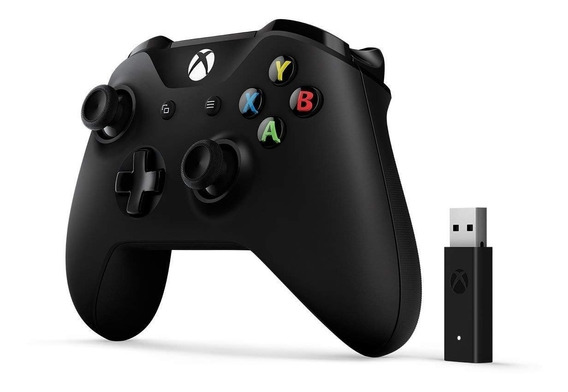Controle Xbox One Original Microsoft + Pc Adaptador Wireless