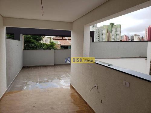 Imagem 1 de 25 de Cobertura Com 2 Dormitórios À Venda, 100 M² Por R$ 450.000,00 - Vila Floresta - Santo André/sp - Co0067