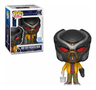 Rory With Predator Mask Shop Exclusive Funko Pop