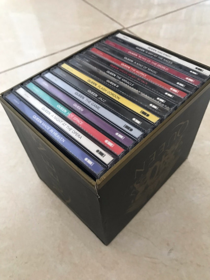 Cd Box Queen - Queen 40th Anniversary - 2011, Importado