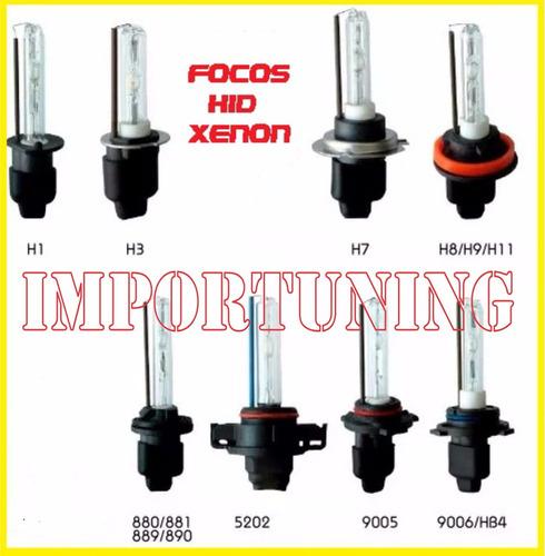 Imagen 1 de 7 de Focos 55w Hid Xenon Digital H1,h7,h8,h11,9005,9006,h3 Unidad