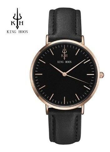 Relógio Casual Social Exclusivo King Hoon Homem Elegante
