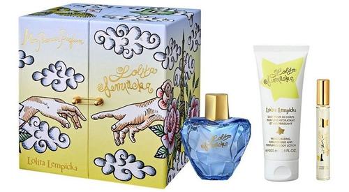 Imagen 1 de 1 de Lolita Lempicka  Estuche 3pcs 100ml+10ml Dkn Perfumeria Spa