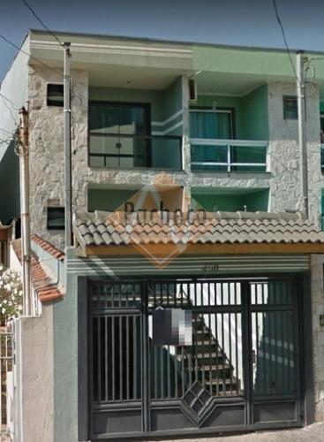 Sobrado Na Vila Matilde, 130 M³, 03 Dormitórios, 01 Suíte, 04 Vagas, R$ 550.000,00 - 2569