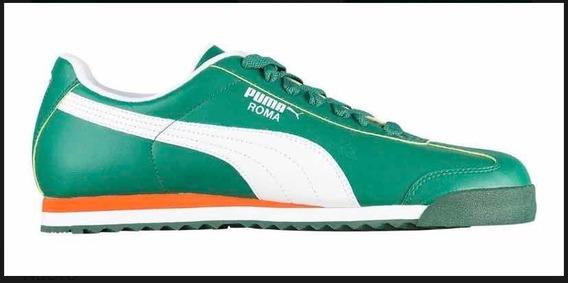Zapatillas Puma Roma Green Mens