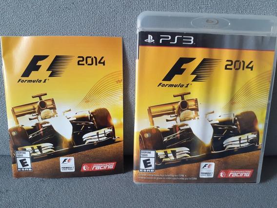 ( Frete R$ 9,90 ) F1 2014 Português Ps3 Mídia Física Formula