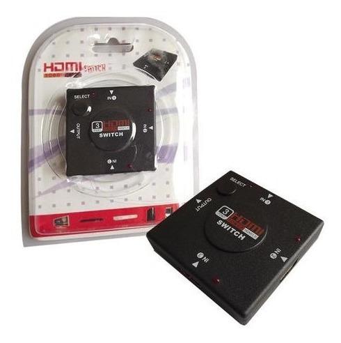 Hub Switch Hdmi 3 Portas Jc-hdmi3 - Empire Full Hd 1080p