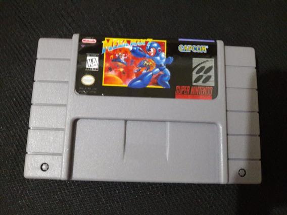 Cartucho Mega Man 7 P\ Super Nintendo Novo! Snes Fita Game