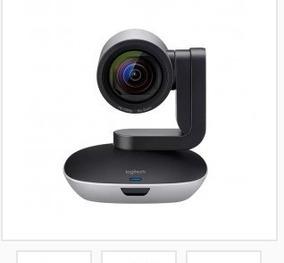 Web Cam Hd Para Video Conferencia Ptz Pro 2 Preto Logitech