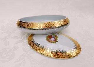 Alhajero En Porcelana * La Reine * De Limoges * Magnífico *