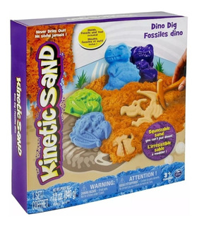 Kinetic Sand Set De Dinosaurios Juguete