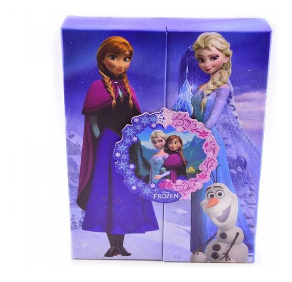 Álbum Azul Para 120 Fotos Frozen - Disney
