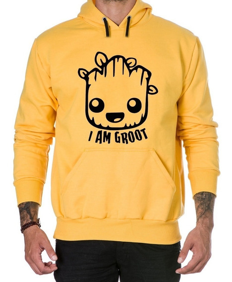 Moletom Agasalho Baby Groot Qualidade Blusa De Frio