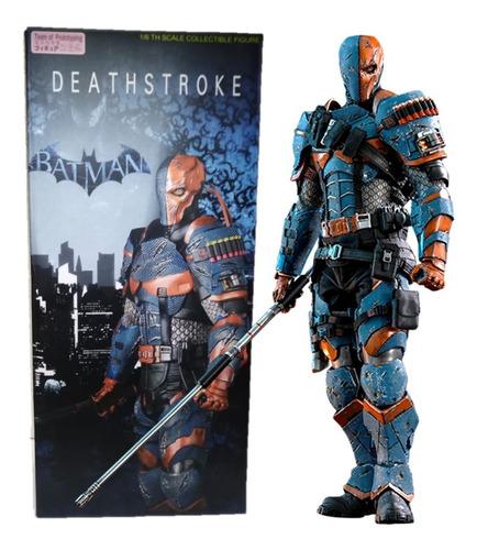 Imagen 1 de 8 de Deathstroke Figura De Acción Batman Team Of Prototyping