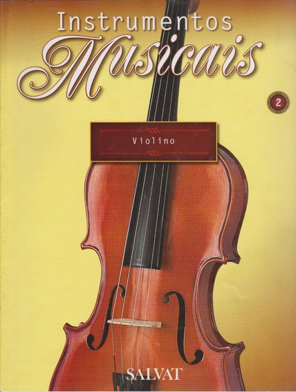 Violino Na Revista / Fascículo Instrumentos Musicais - Jfsc