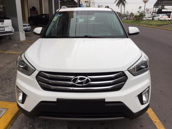 Dm Hyundai Creta 1.6 Gls Premium At 2017 Color Blanco