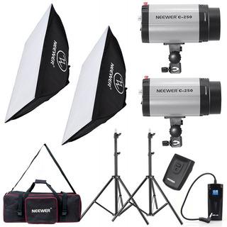 Luces Neewer 500w Estudio Flash Luz Led Softbox Canon Nikon