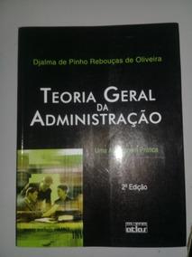 Livro Teoria Geral Da Administração - Uma Abordagem Prática