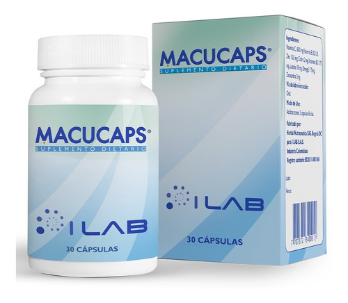 Macucaps Suplemento Dietario X 30 Capsulas