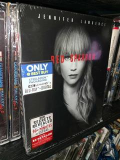 Blu Ray 4k Ultra Hd Red Spárrow Steelbook Target