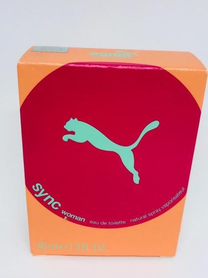 Puma Sync Edt 40ml Original Novo