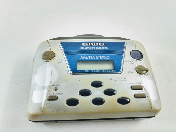 Rádio E Toca Fitas K7 Tipo Walkman Aiwa Tx-409