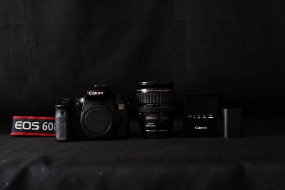 Canon 60d C/lente Canon 28/135
