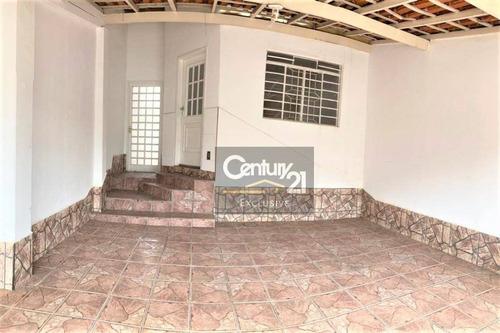Casa À Venda, 107 M² Por R$ 280.000,00 - Vila Rubens - Indaiatuba/sp - Ca0830