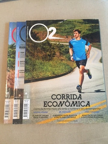 Revistas O2 - Corrida. Estilo De Vida - Lacradas - 2014