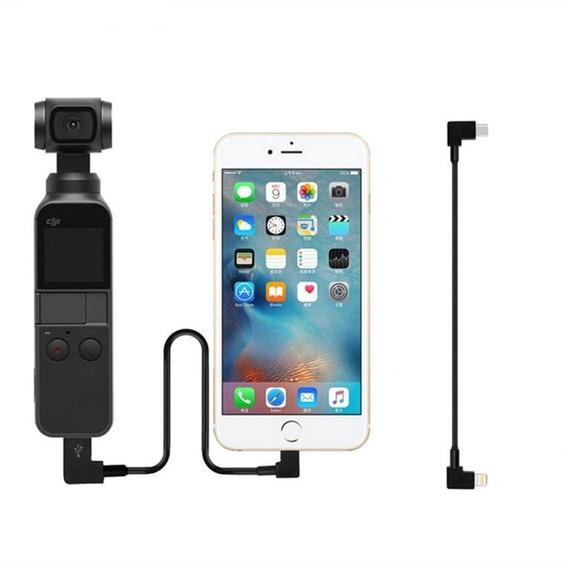 Cabo De Transferencia Da Dados Conexão Usb Ios iPhone Para Dji Osmo Pocket