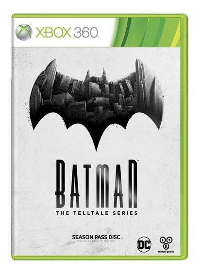 Batman The Telltale Series Xbox 360 Mídia Física