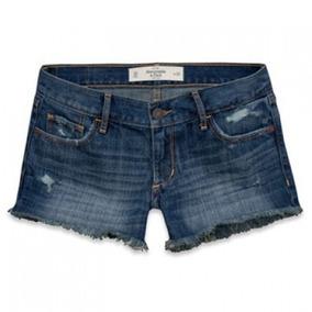 Shortinho Jeans Abercrombie - Curto - Tam: 38 (6 W28) - P2