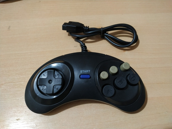 Controle Para Mega Drive / Genesis 6 Botões