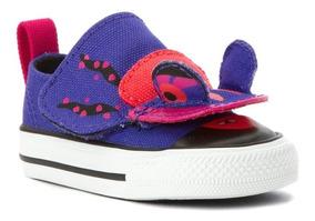 Converse Niña Chuck Taylor Creatures Purple/pink Iguana