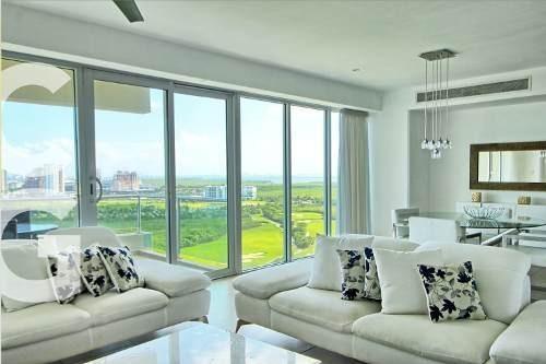 Departamento En Renta En Cancun En Residencial Isola De 3rec