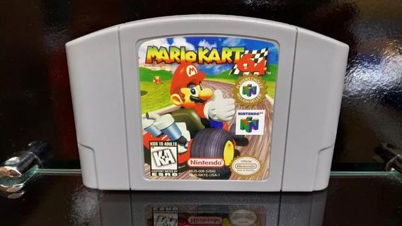 Fita / Cartucho Mario Kart 64 Nintendo 64 N64 Salvando Pront
