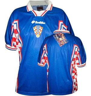 Jersey Croacia Mundial Francia 1998 Local Lotto Super-soccer