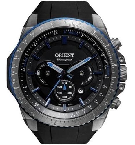 Relógio Orient Mbtpc004 Masculino Visor Cinza Original Sport