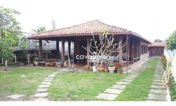 Casa Residencial À Venda, Ponta Negra, Maricá. - Ca3199