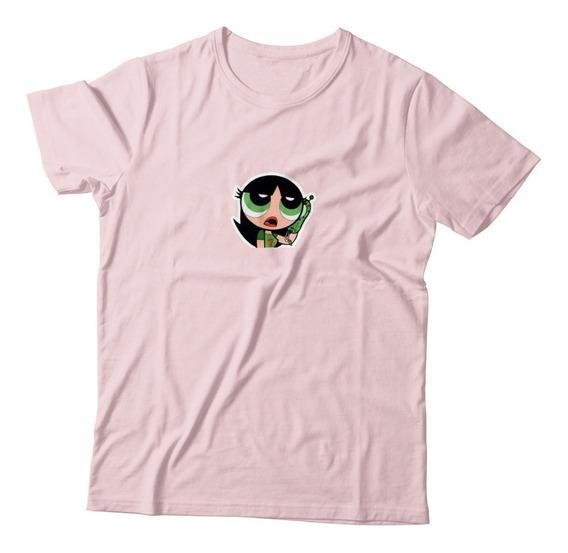 Camiseta Blusa Docinho As Meninas Super Poderosas Moda Swag