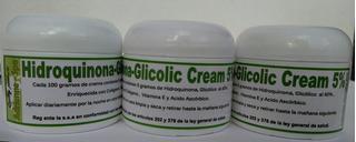 Crema Desmanchadora Hidroquinona-glicolic 5% Envio Gratis