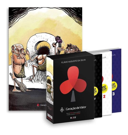 Box Geração De Valor Volumes 1, 2 E 3 + Pôster Exclusivo