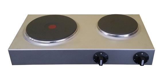 Anafe Electrico Inoxidable Doble Disco 2000w Y 1500w Aleman