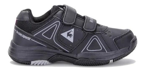 Le Coq Sportif Zapatillas Kids - Nils Strap Jr Black