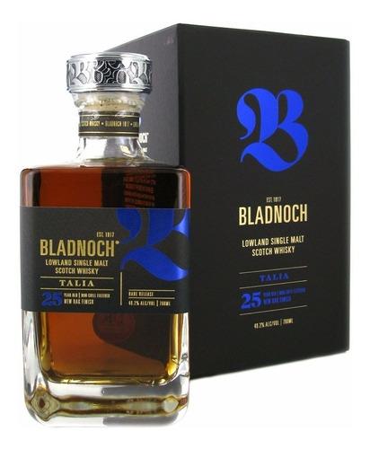 Whisky Single Malt Bladnoch Talia 25 Años 49,2% Orig Escocia