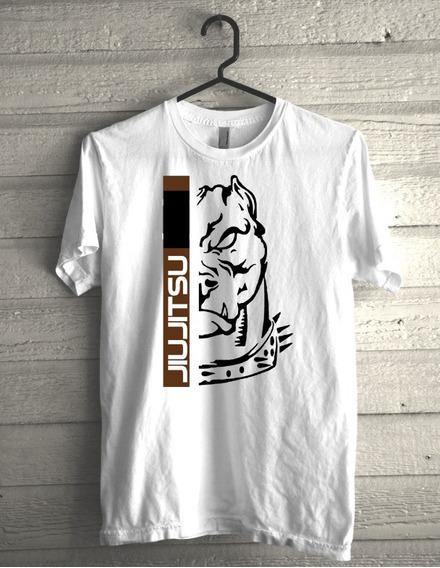 Camiseta Jiujitsu Faixa Marrom