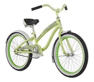 Bicicleta Diamondback Niña 20 Mizz Della Cruz Verde