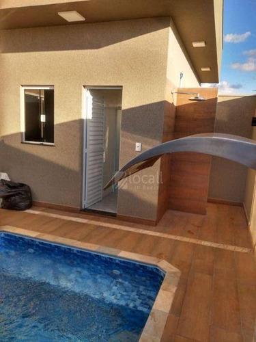 Imagem 1 de 29 de Casa Com 3 Dormitórios À Venda, 155 M² Por R$ 750.000,00 - Lot. Res. Setlife - Mirassol/sp - Ca2701