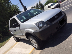 Ford Ecosport Xls 1.6 4x2 Año 2007 Color Plata As Automobili